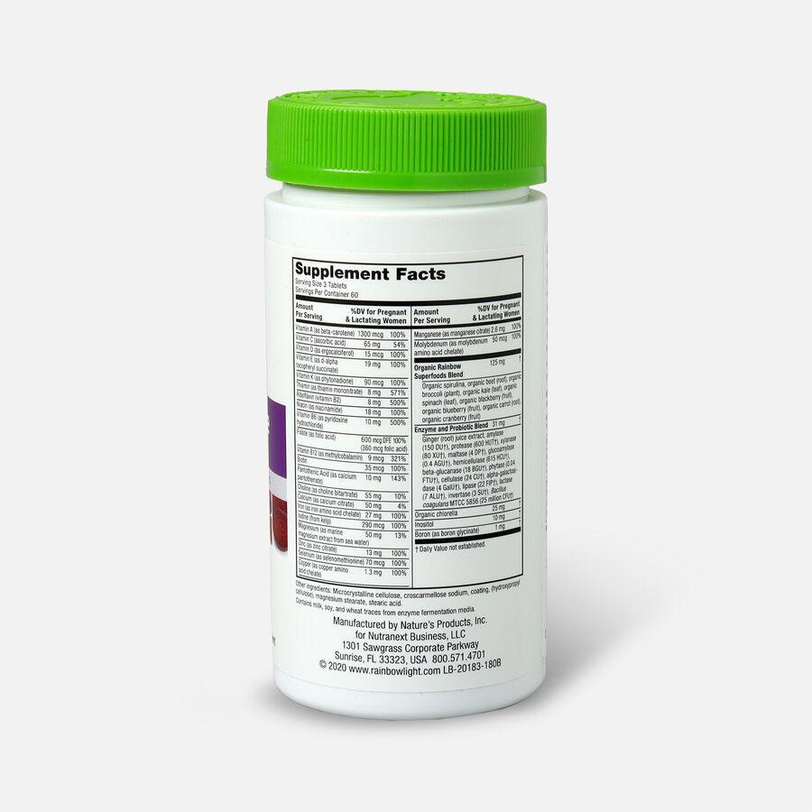 Rainbow Light Prenatal Petite Mini-Tablet Multivitamin, 180 Ct, , large image number 1