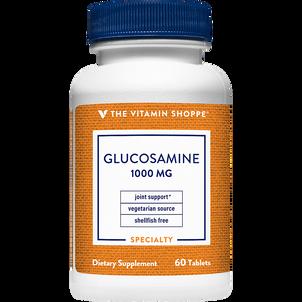 Vitamin Shoppe Glucosamine, 1,000 mg, Tablets, 60 ct