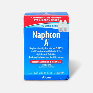 Naphcon-A Eye Drops Pocket Pack, Twin Pack