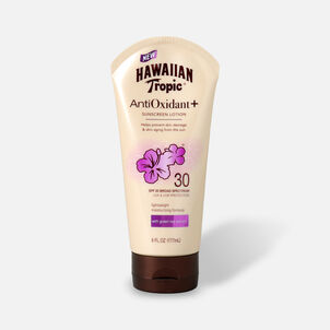 Hawaiian Tropic Antioxidant+ Sunscreen Lotion, 6oz.