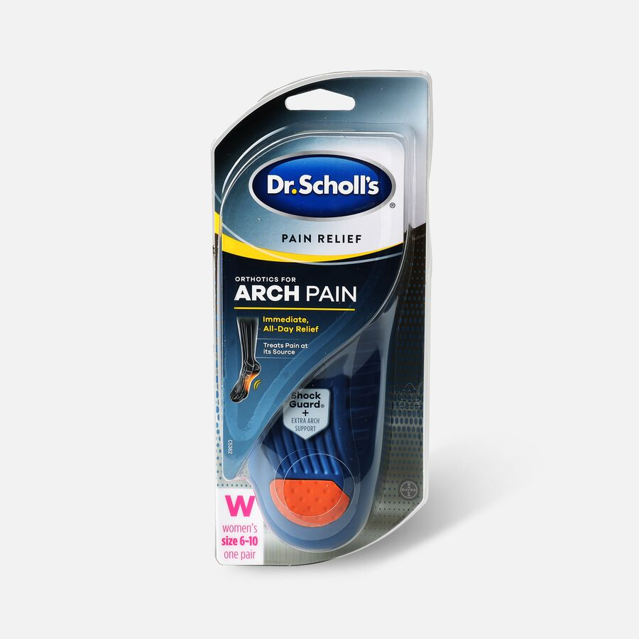 Dr. Scholl's Pain Relief Orthotics For Arch Pain for Women - Size (6-10), , large image number 0