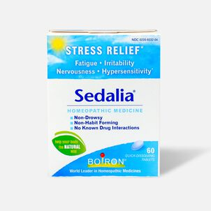 Boiron Sedalia Homeopathic Medicine for Stress Relief, 60 ct