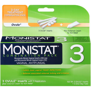 Monistat 3, Cure and Itch Relief