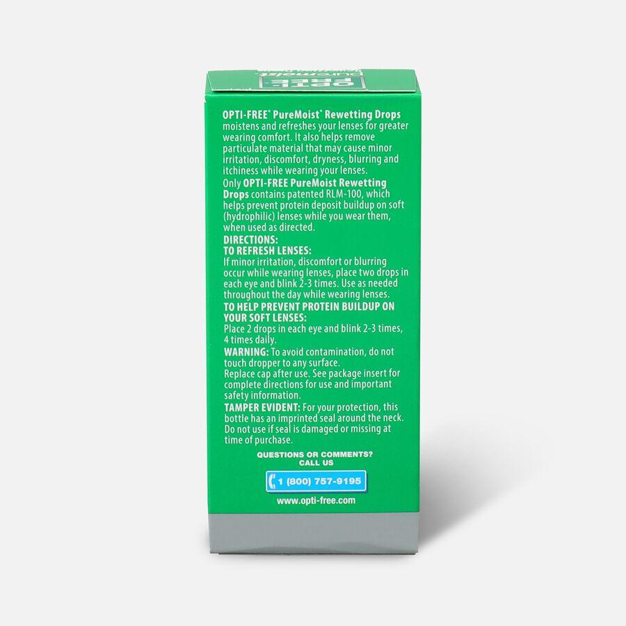 Opti-Free PureMoist Rewetting Drops, 12 ml, , large image number 1