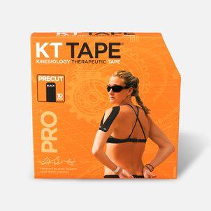 KT Tape Pro Jumbo Precut Tape, Black, 150 Strips