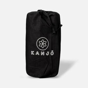 Kanjō Memory acuPressure Mat Set with Pillow, Onyx