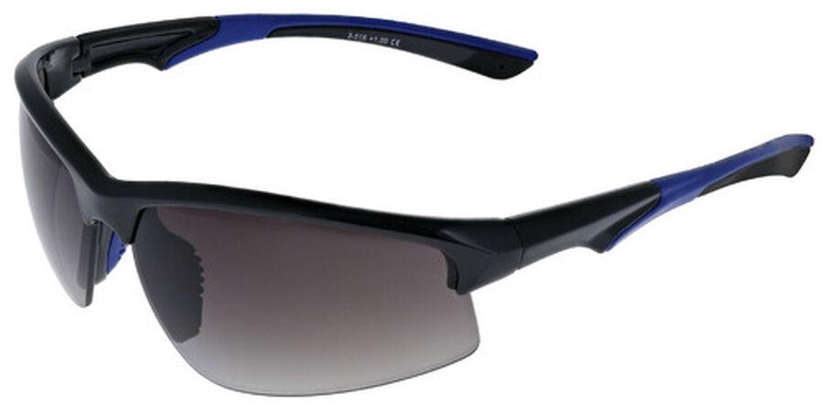 Sunreader - KADEN, +3.00, Shiny Black with Blue, Shiny Black with Blue, large image number 1