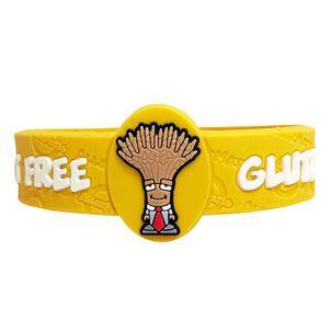 AllerMates Children's Allergy Alert Bracelet - Gluten Awareness