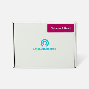 LetsGetChecked Diabetes and Heart Test