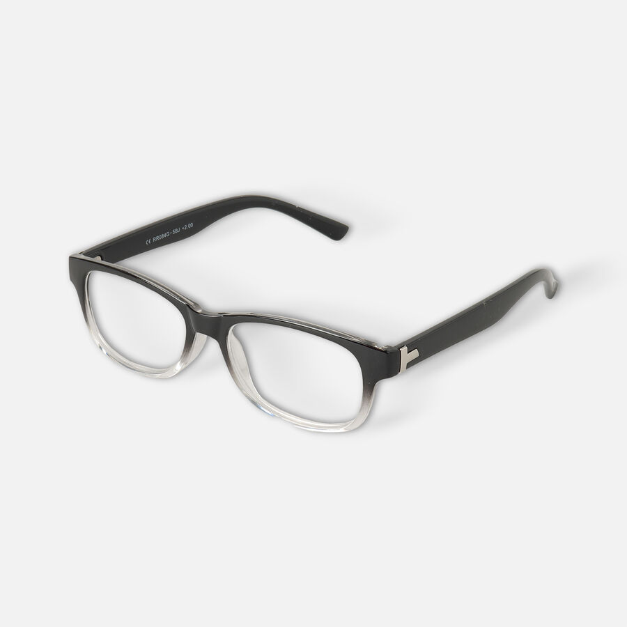 Today's Optical Frame, Black with Transparent Accents, , large image number 7