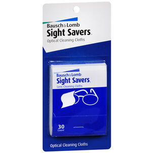 Bausch and Lomb Sight Savers Cleaning Cloths - 2/Pack