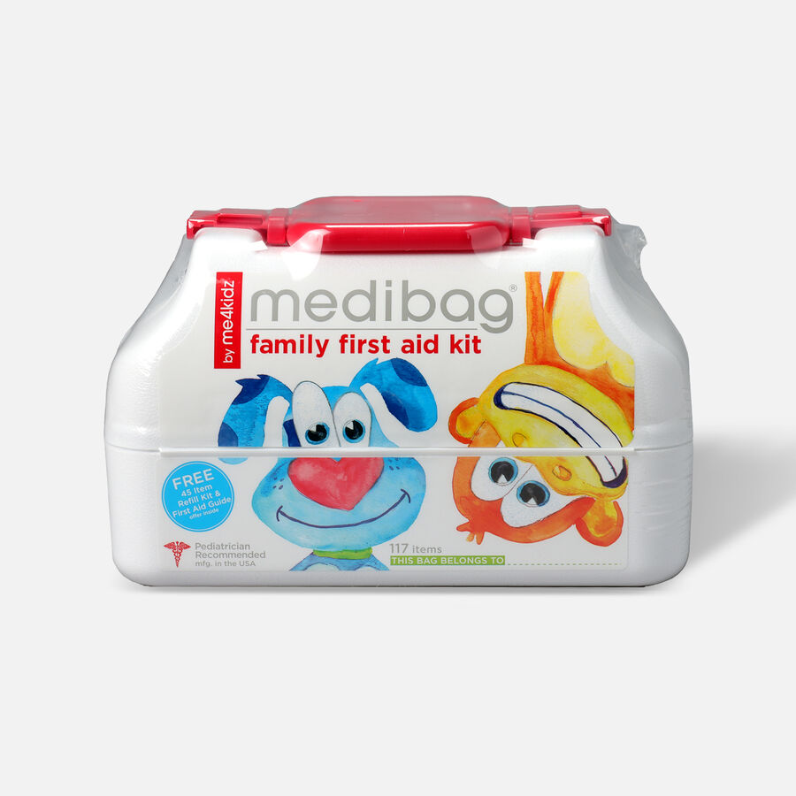 MediBag First Aid Bag for Kids 117 pieces, , large image number 0