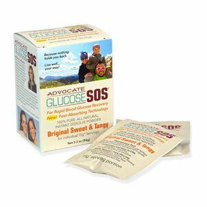 Advocate Glucose SOS Powder, Green Apple, 3.3 oz