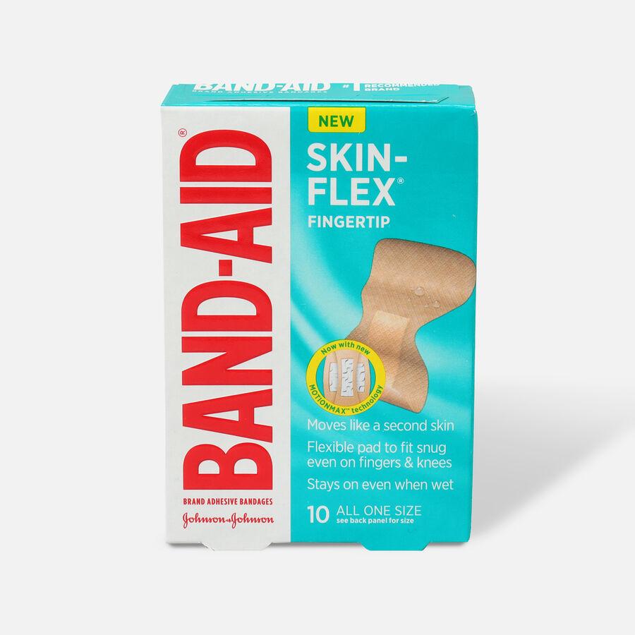 Band-Aid Skin-Flex Adhesive Bandages, Finger - 10ct, , large image number 0