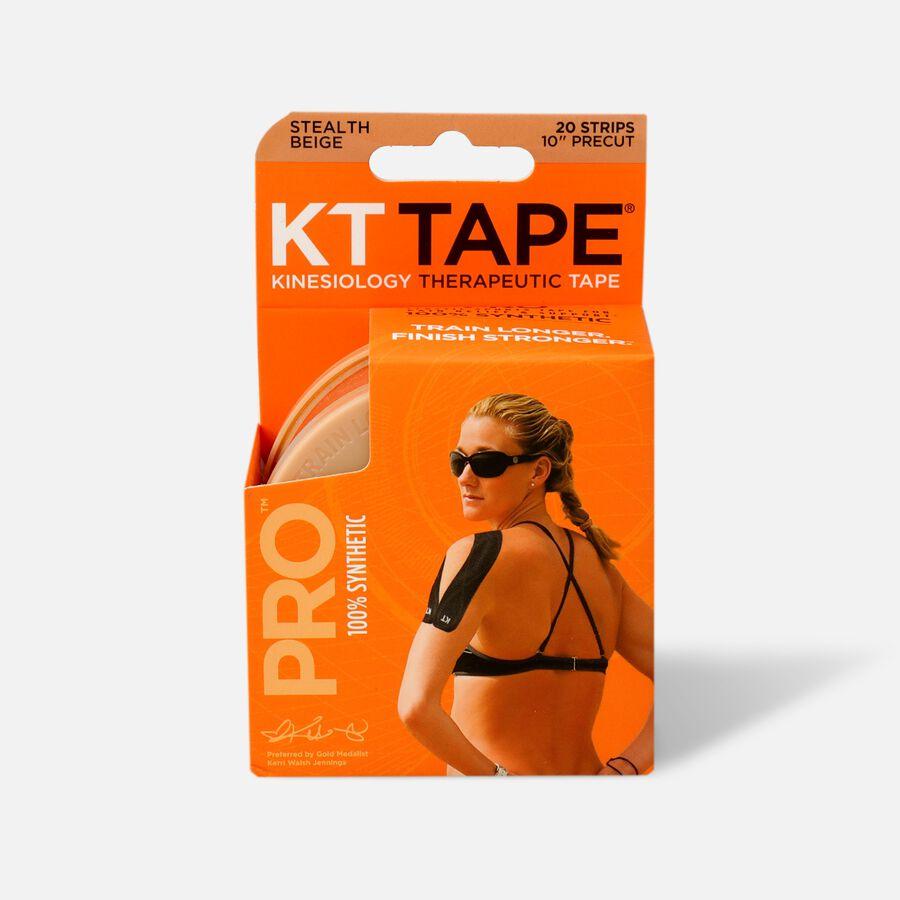 KT TAPE PRO, Pre-cut, 20 Strip, Synthetic, Stealth Beige, Stealth Beige, large image number 1