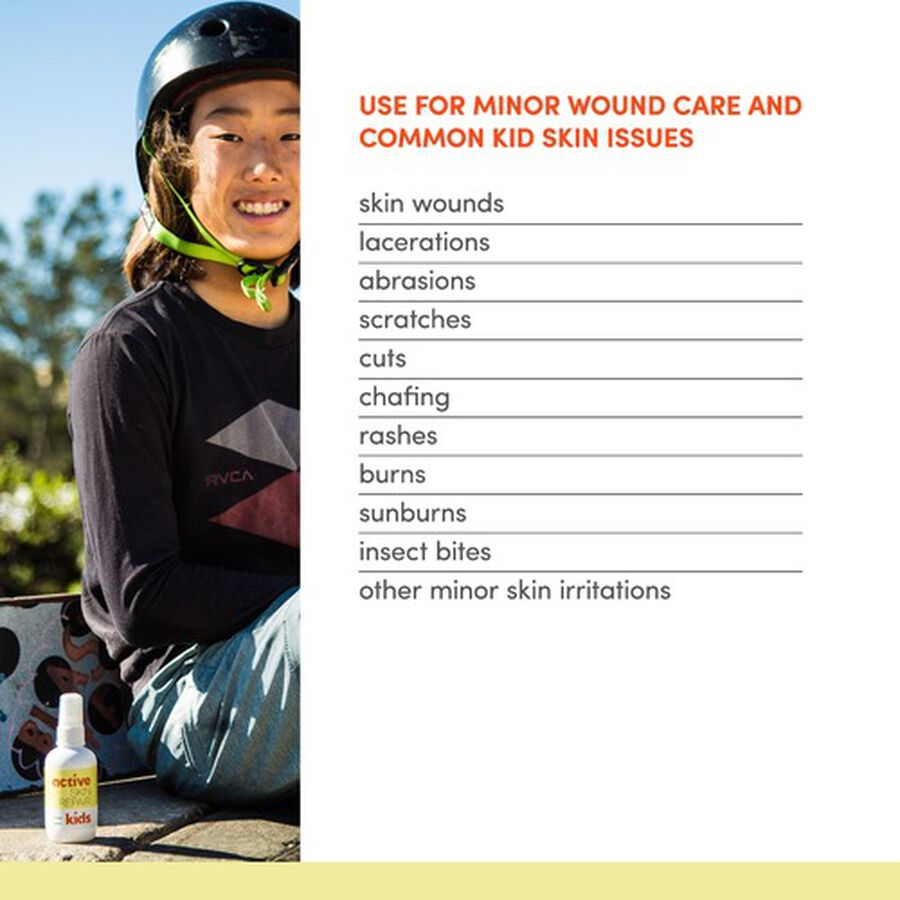 Active Skin Repair Kids Spray 3oz., , large image number 9