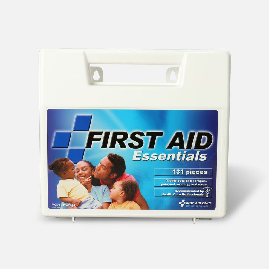First Aid Kit Essentials, 131 Pc, , large image number 1