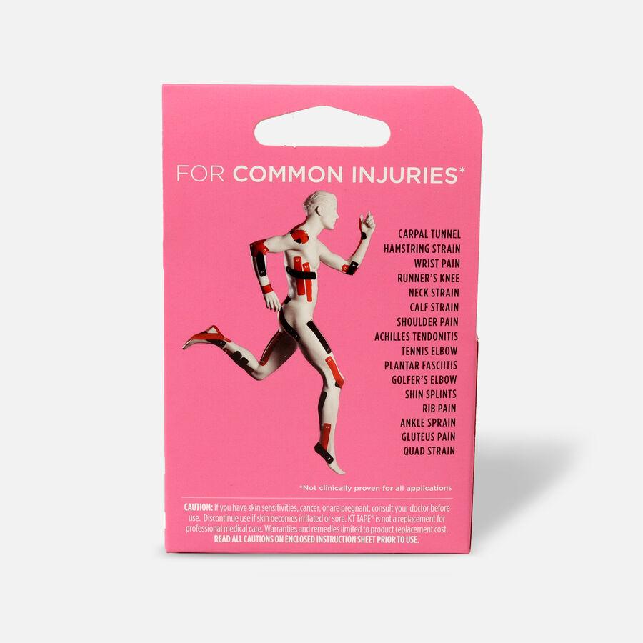 "KT Tape Pro Breast Cancer, 20 2""x10"" strips, Pink Breast Cancer, large image number 1"