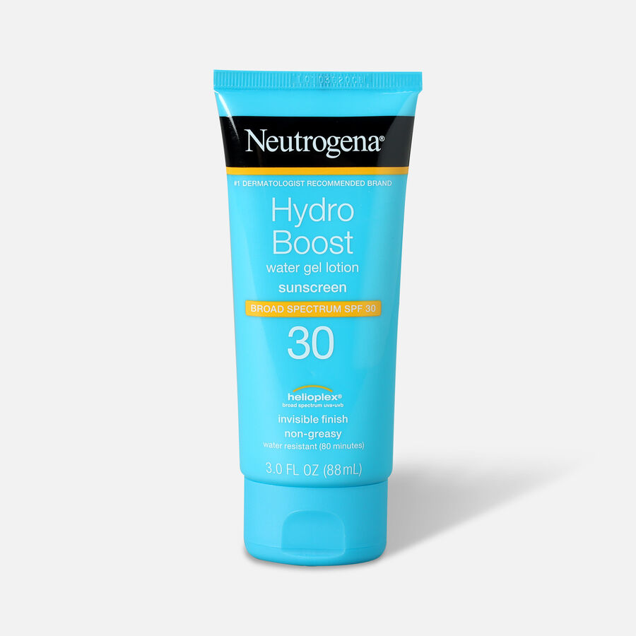 Neutrogena Hydro Boost Water Gel Non-Greasy Sunscreen Lotion, 3 fl. oz, , large image number 2