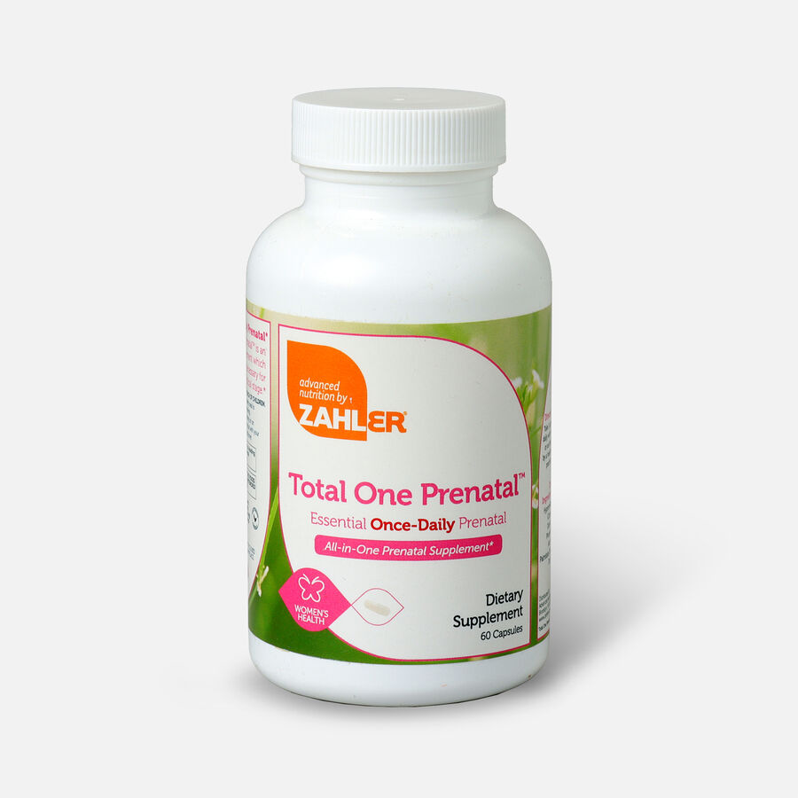 Zahler Total One Prenatal, Complete One a Day Prenatal Multivitamin, , large image number 3