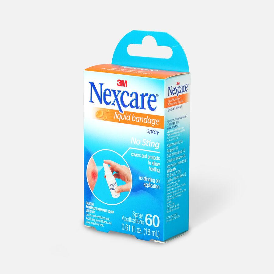 Nexcare No Sting Liquid Bandage Spray, .61 fl oz, , large image number 2
