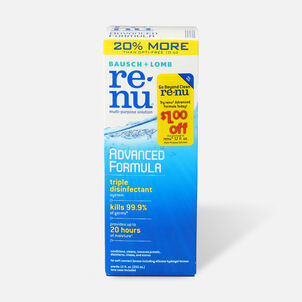 Renu Advanced Formula Multi Purpose Solution 12 oz