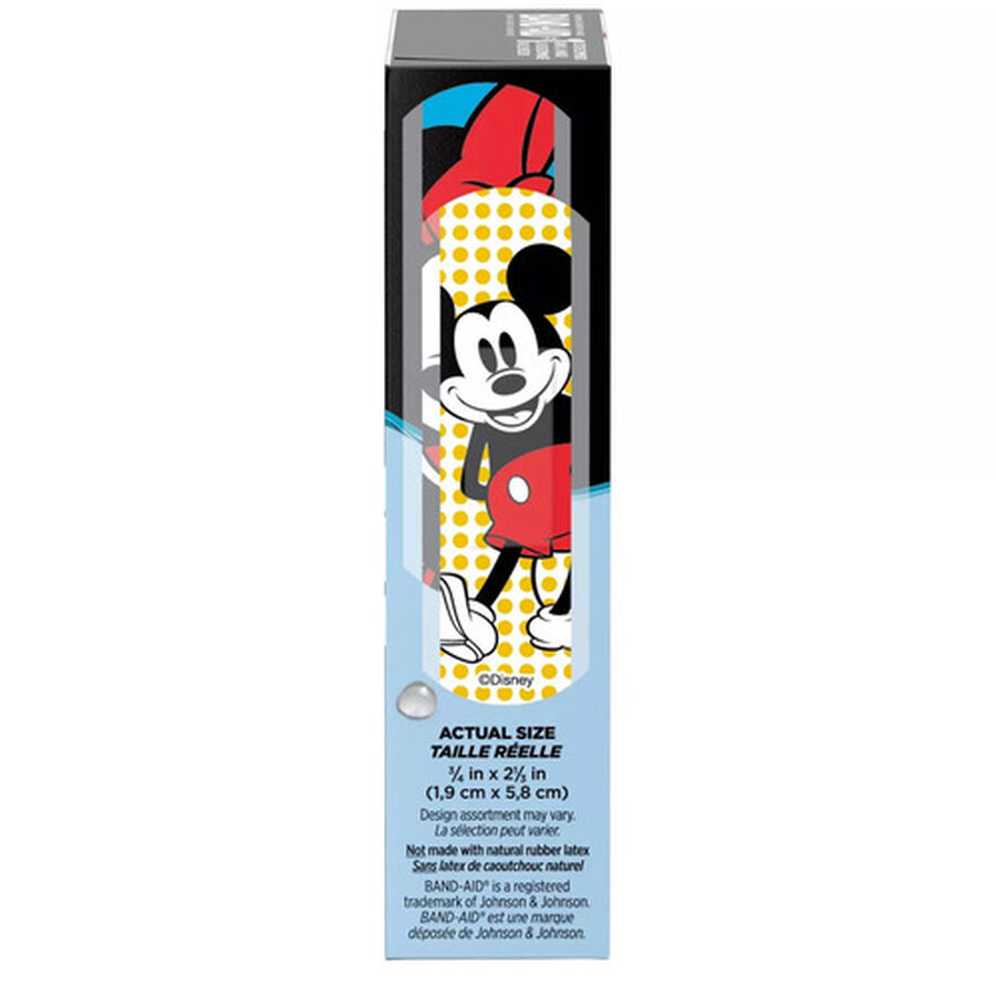 Band-Aid Disney Mickey Waterproof Bandages - 15ct, , large image number 1