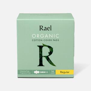 Rael Organic Cotton Cover Pads - Regular, 14ct