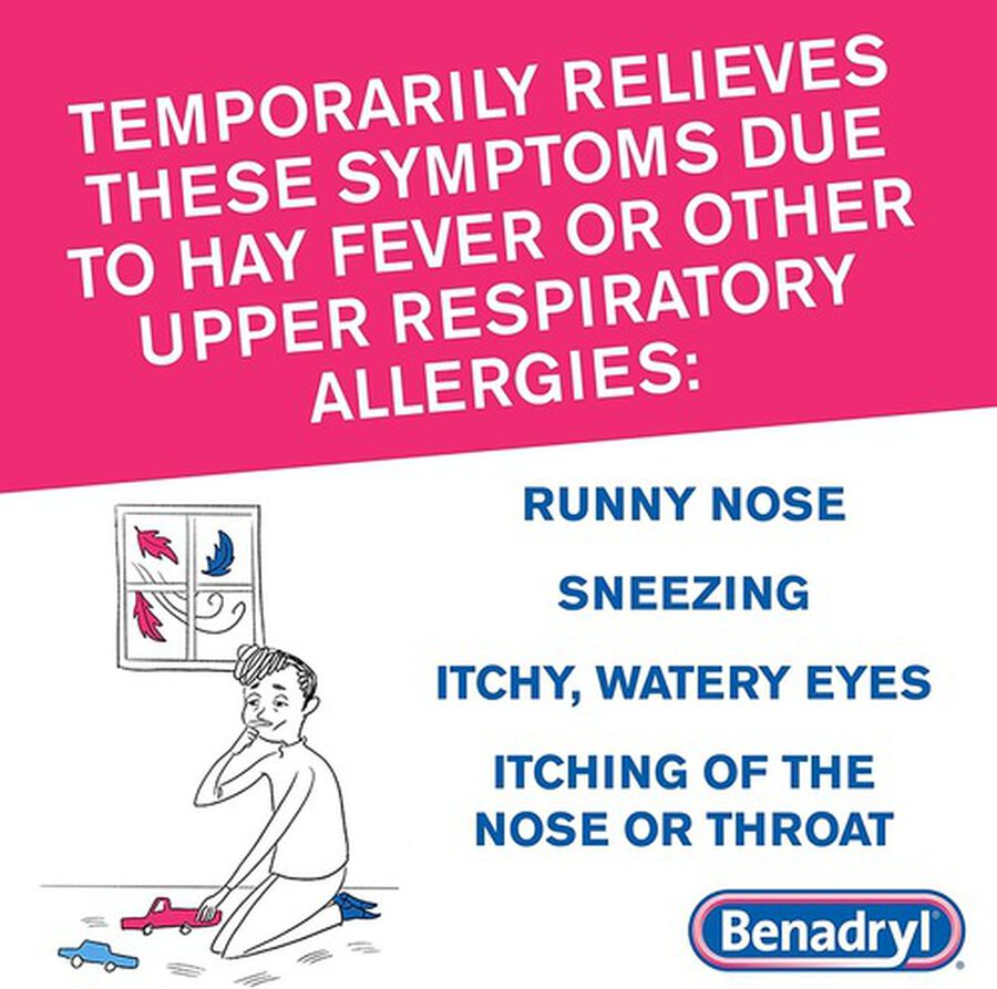 Benadryl Ultra Allergy Relief Tablets, 100 ct, , large image number 6