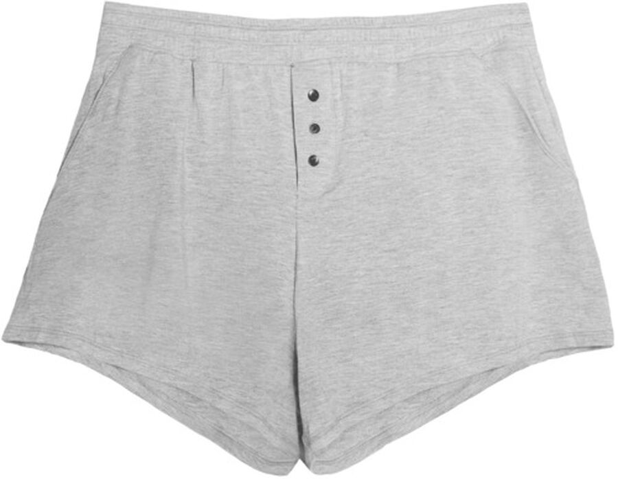 Thinx Period Proof Sleep Shorts, Grey, XS, , large image number 0