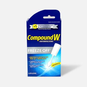 Compound W Freeze Off Wart Removal, 8 ea