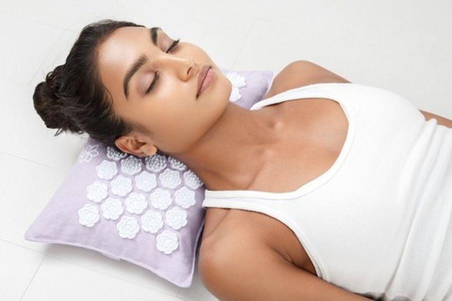 Kanjo Aroma Lavender Acupressure Pillow, , large image number 2