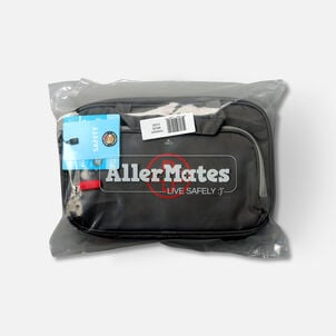 AllerMates Parker 2 in 1 Insulated Large Deluxe Travel Medicine Bag Cases