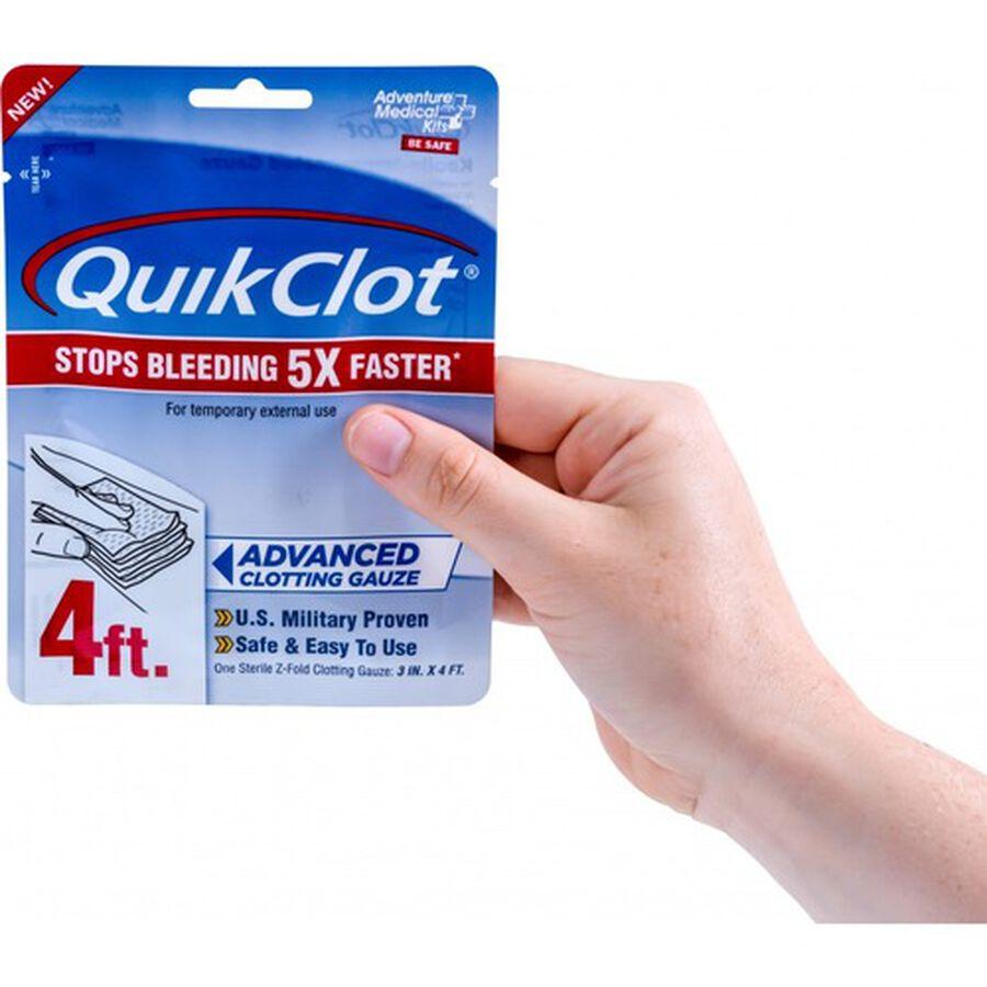 """QuikClot Gauze 3"""" x 4', , large image number 2"""