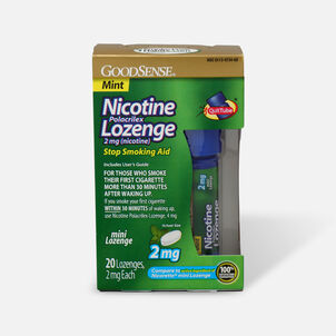 GoodSense® Nicotine Mini Lozenge Quit Tube Mint 2 mg, 20 ct