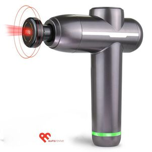 Aura Revive Deep Muscle and Joint Pain Relieving Massage Gun with Heat Therapy