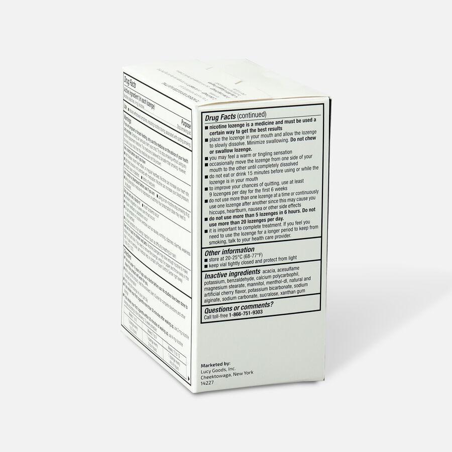 Lucy Nicotine Lozenge, Cherry Ice, 4 mg, 135 ct, , large image number 3