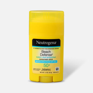 NEUTROGENA® BEACH DEFENSE® Sunscreen Stick Broad Spectrum SPF 50+, 1.5 Oz