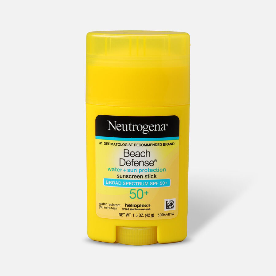 NEUTROGENA® BEACH DEFENSE® Sunscreen Stick Broad Spectrum SPF 50+, 1.5 Oz, , large image number 0