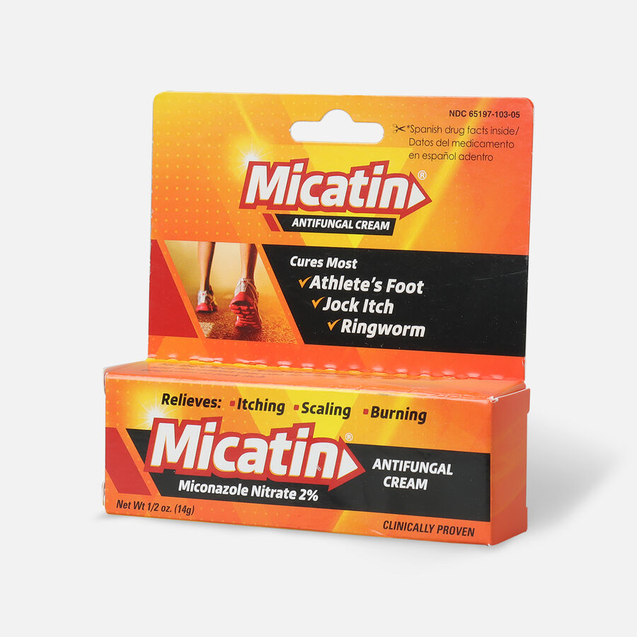 Micatin Antifungal Cream, 0.5 oz, , large image number 2