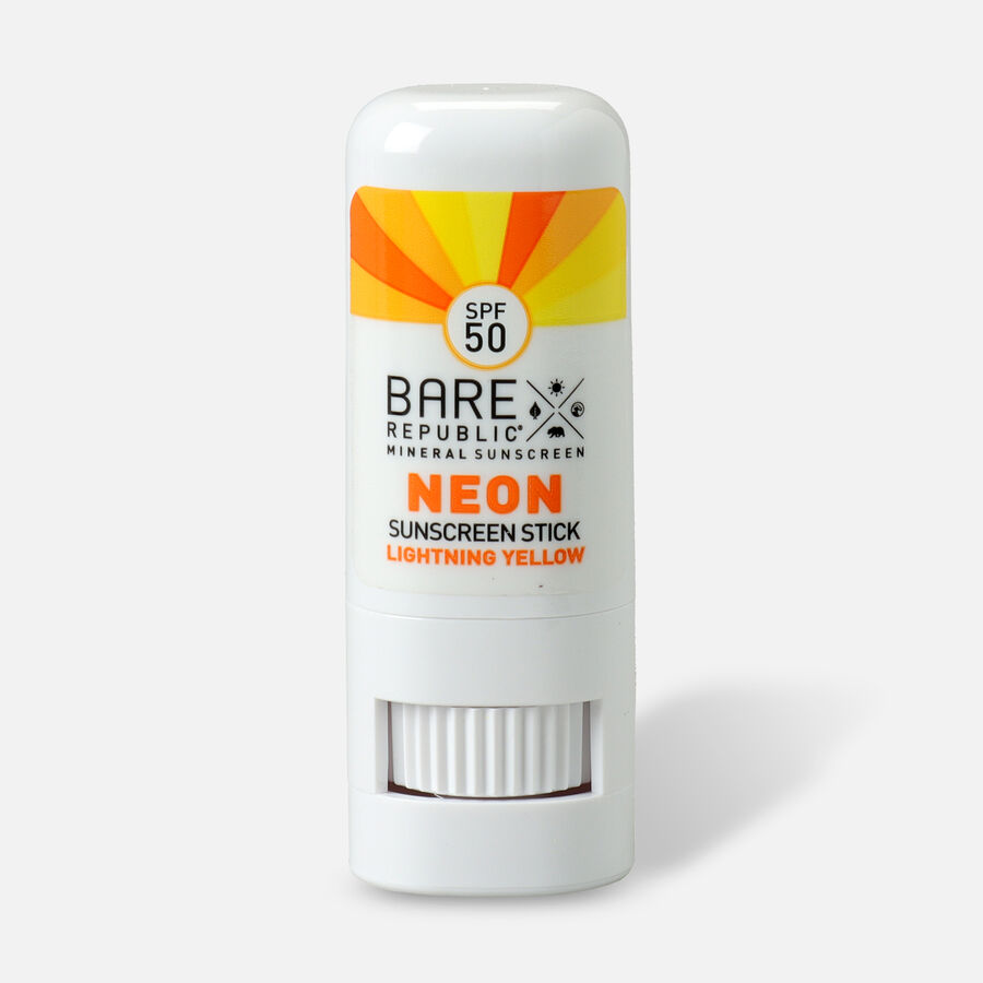 Bare Republic Mineral SPF 50 Neon Sunscreen Stick, , large image number 3