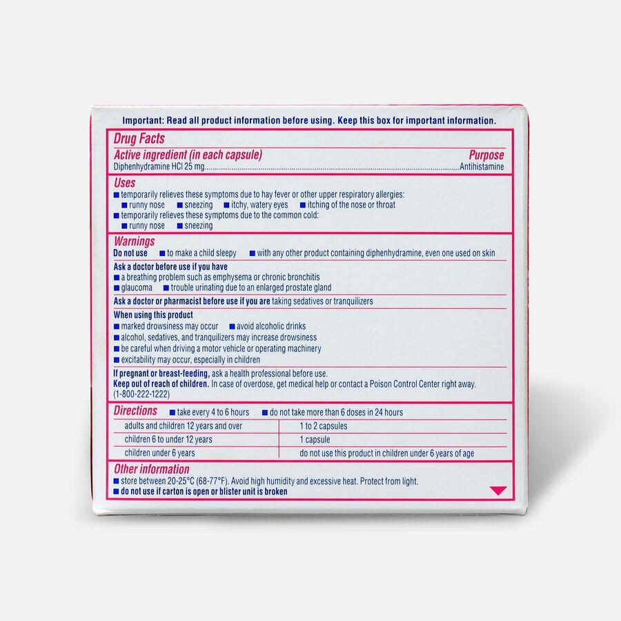 Benadryl Dye-Free Allergy Relief, Liqui-gels, 24 capsules, , large image number 1