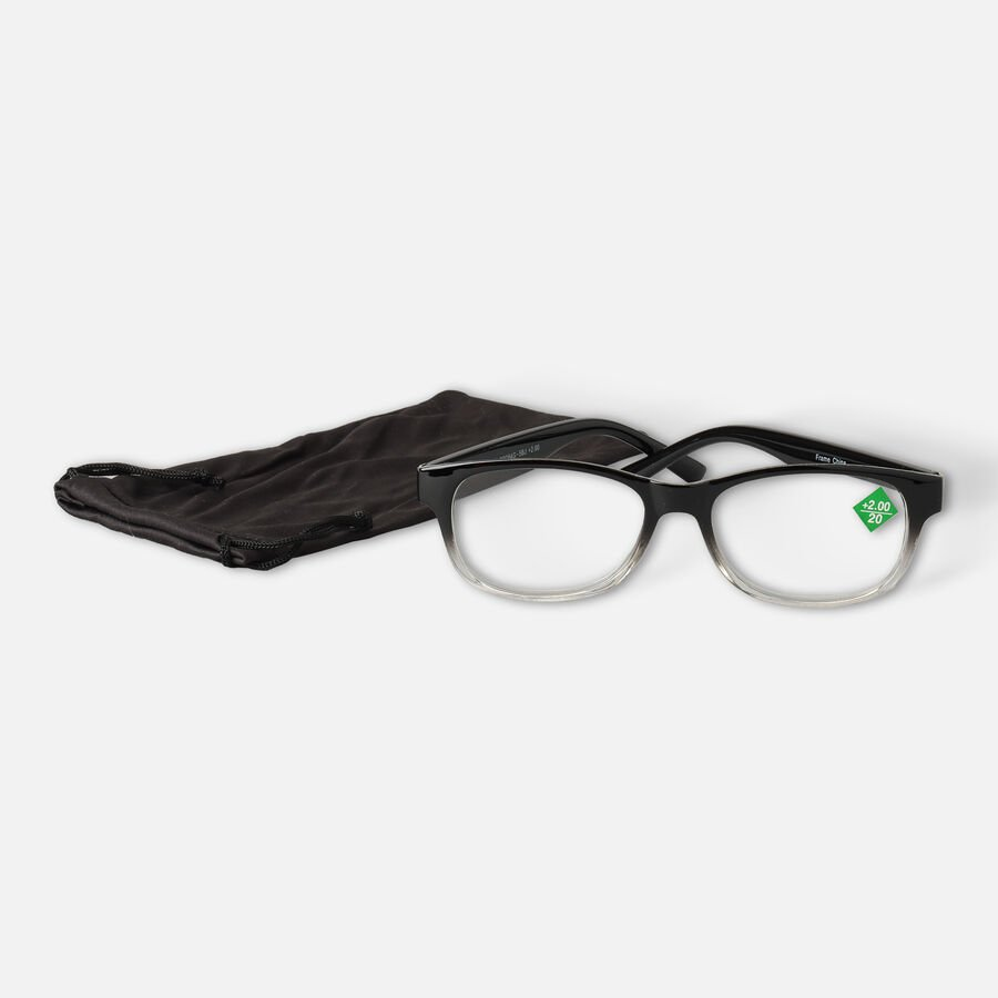 Today's Optical Frame, Black with Transparent Accents, , large image number 6