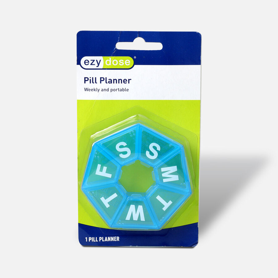 EZY Dose Pill Reminder, 7-Day, 7-Sided, , large image number 0