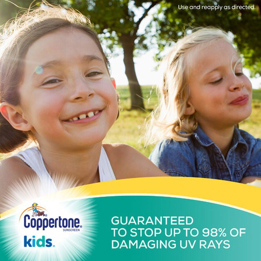 Coppertone Kids Sport Sunscreen Water Resistant Spray SPF 100, 5.5 oz, , large image number 3