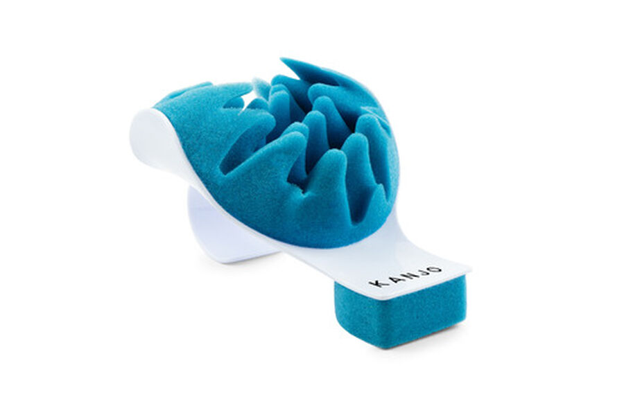 Kanjo Neck Pain Relief Support Cradle, Blue/White, , large image number 0