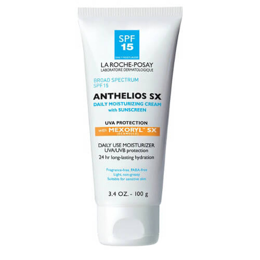 La Roche-Posay Anthelios SX Daily Use Sunscreen SPF 15, 3.4 oz, , large image number 0