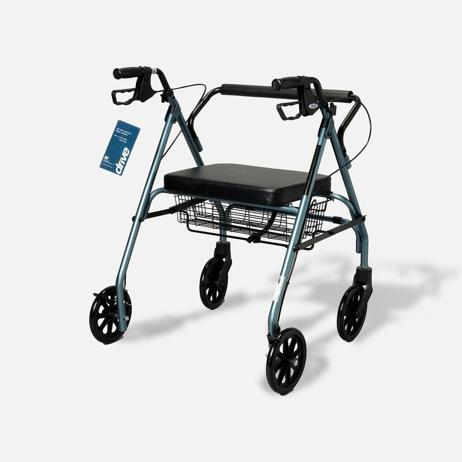Drive Go-Lite Bariatric Rollator, , large image number 1