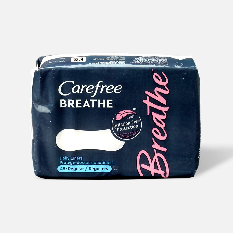 Carefree Breathe Wrapped Liners, , large image number 0