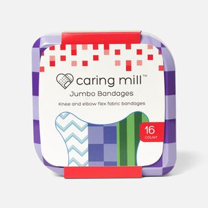 Caring Mill™ Jumbo Bandages-16CT